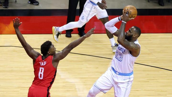 Lakers y Rockets se verán las caras por segunda oportunidad en la temporada