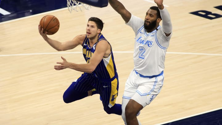 Doug McDermott - Los Angeles Lakers v Indiana Pacers