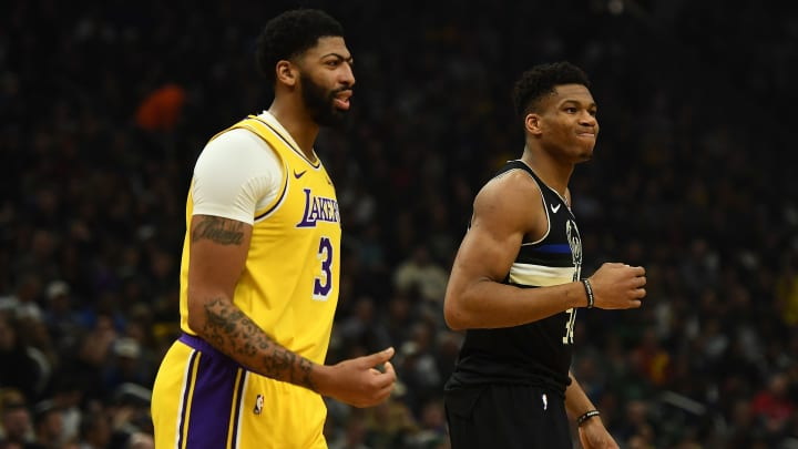 Anthony Davis, Giannis Antetokounmpo