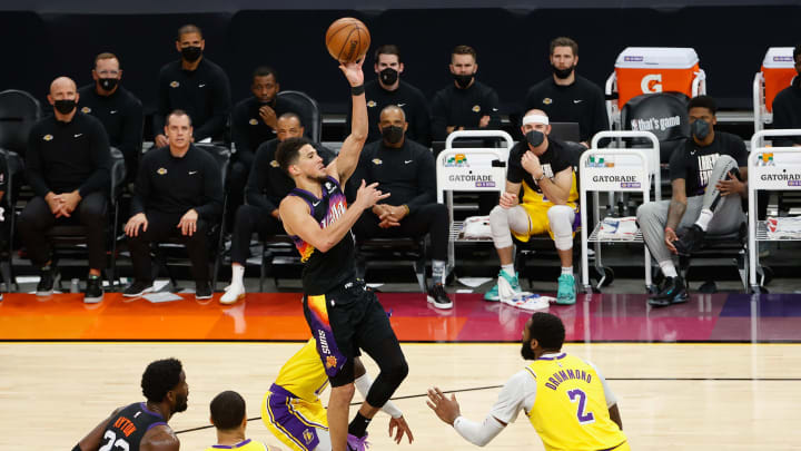 Devin Booker is going to have to shoulder the offensive load in Game 6 for the Suns.