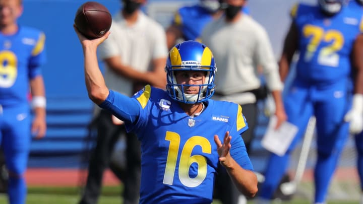 New York Giants vs Los Angeles Rams odds, spread, line and over/under.