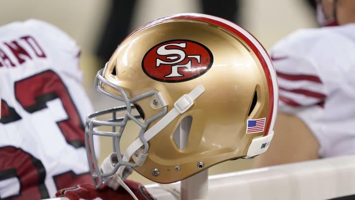 49ers helmet.