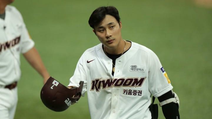 Ha-Seong Kim, Lotte Giants v Kiwoom Heroes