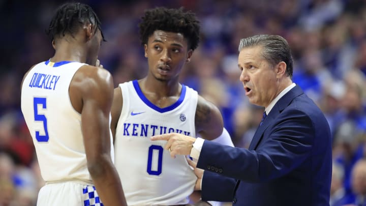 John Calipari, Immanuel Quickley, Ashton Hagans