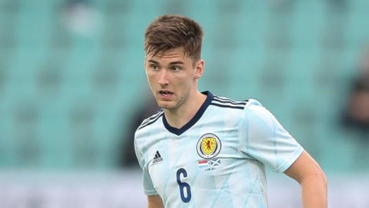 Kieran Tierney will move into centre-back