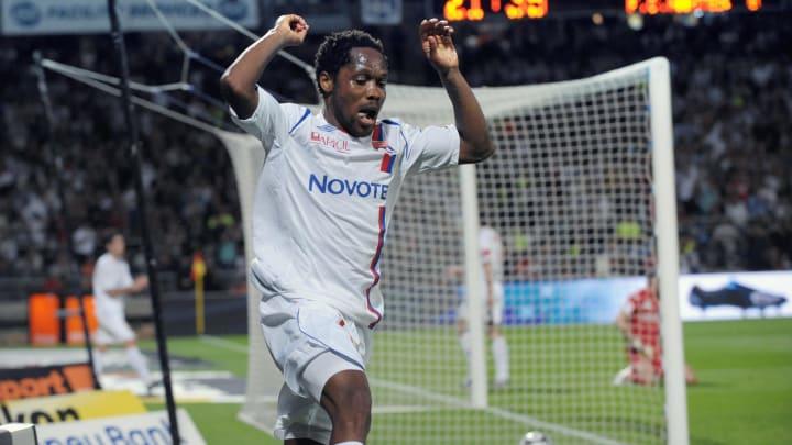 Lyon's Cameroonian midfielder Jean Makou