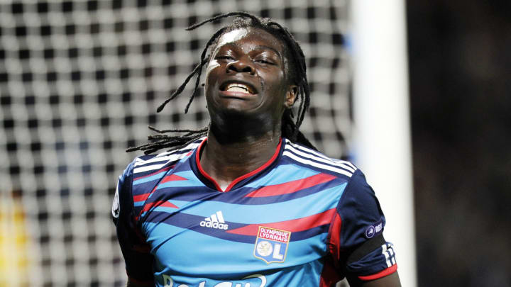 Lyon's French forward Bafetimbi Gomis re