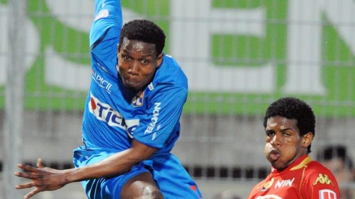 Lyon�s Ivorian forward Abdul Kader Keita
