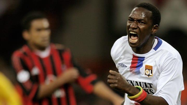 Lyon's midfielder Mahamadou Diarra of Ma