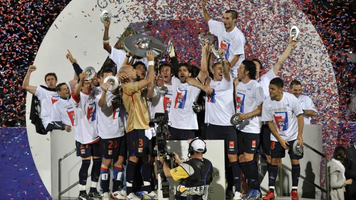 Lyon have not won Ligue 1 since 2008