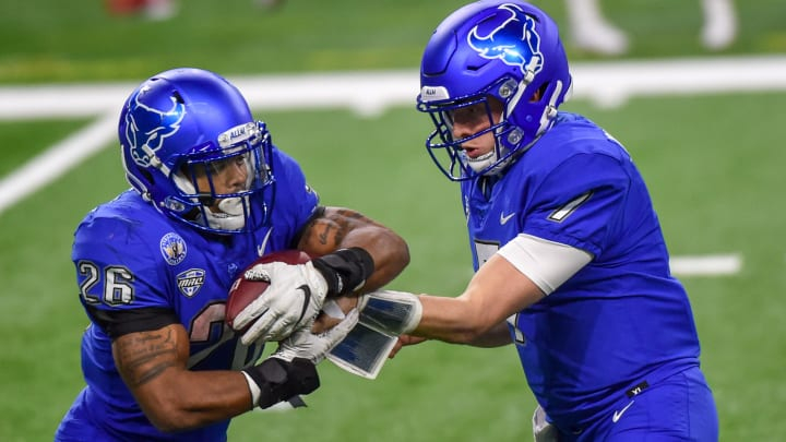 Marshall vs Buffalo odds, spread, prediction, date & start time for 2020 Calellia Bowl game.