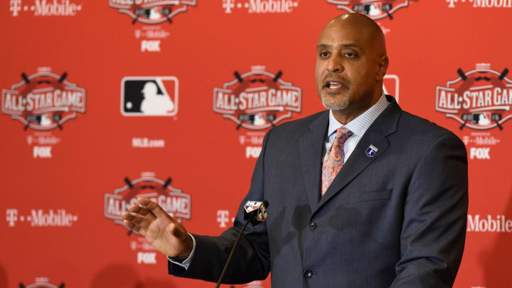 MLB Players Association executive director Tony Clark