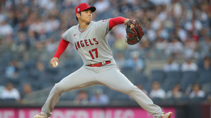 Shohei Ohtani returns to the mound for the Angels in Oakland this evening.