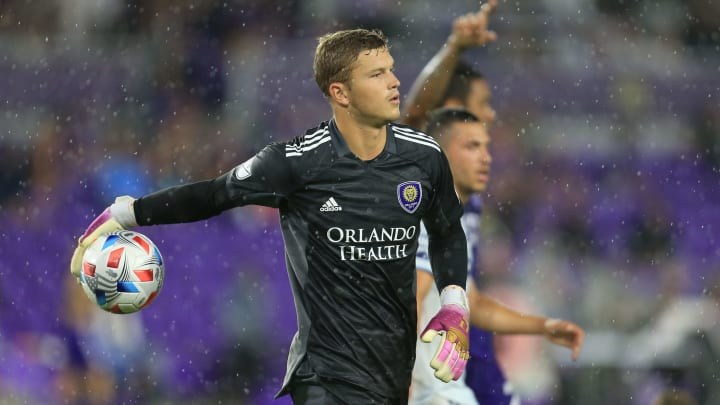 Stajduhar has played six senior games for Orlando City, keeping one clean sheet.