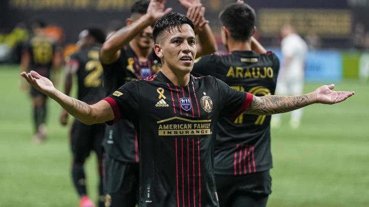Barco scored his fourth goal in six games on Friday as Atlanta United beat Orlando City 3-0.