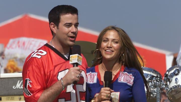 Carson Daly and Jennifer Lopez