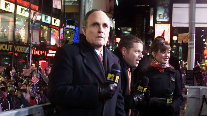 Rudy was actually a staple at MTV NYE festivities.