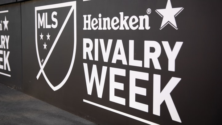 MLS rivalry week kicks off with LA Galaxy vs San Jose Earthquakes on Friday.