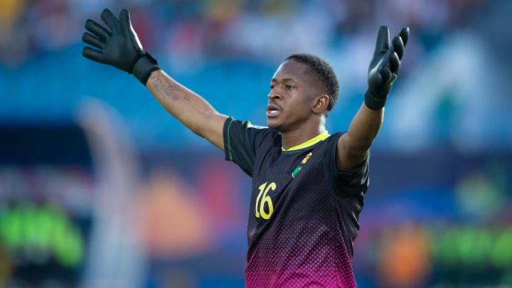 Le jeune mais expérimenté Djigui Diarra lors de la Coupe d'Afrique des Nations 2019.