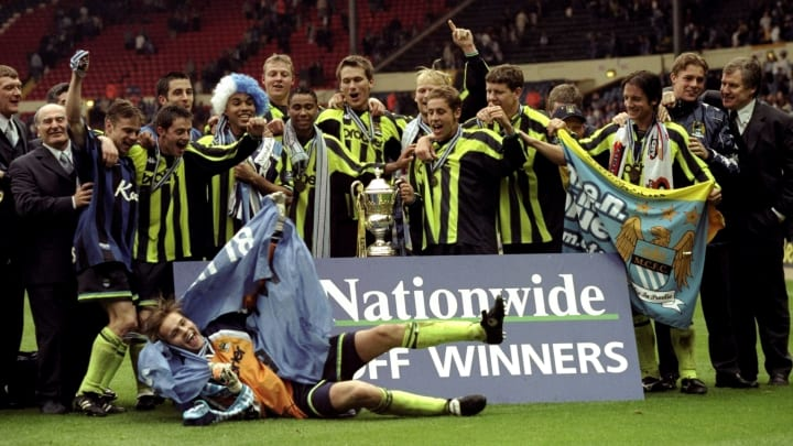Man City players