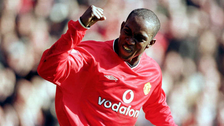 Dwight Yorke scored 65 goals across 152 appearances for Manchester United