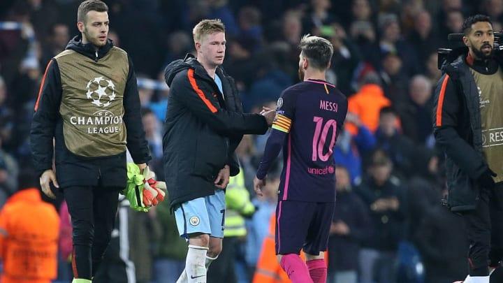 Kevin De Bruyne, Lionel Messi
