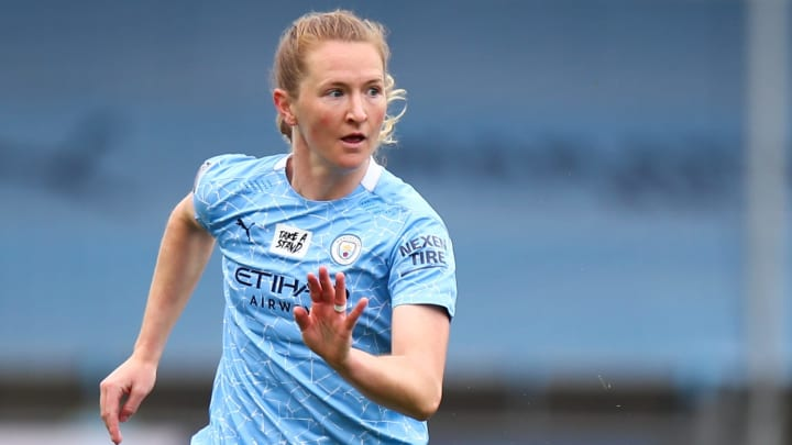 Sam Mewis has left the WSL after one season with Man City