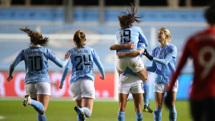 Manchester City Women 3-0 Manchester United Women