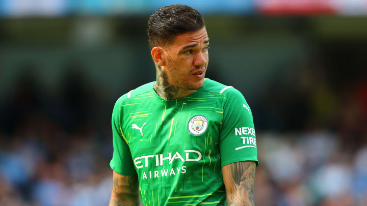 Ederson has committed his future to Man City