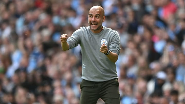 Pep Guardiola's Man City play their first Champions League game of the season
