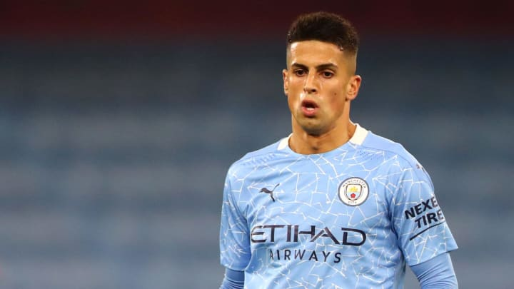 João Cancelo put in a surprisingly resolute defensive performance from an unfamiliar hybrid role