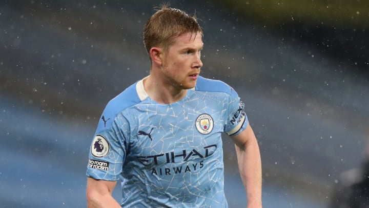 Kevin De Bruyne is set for a spell on the sidelines