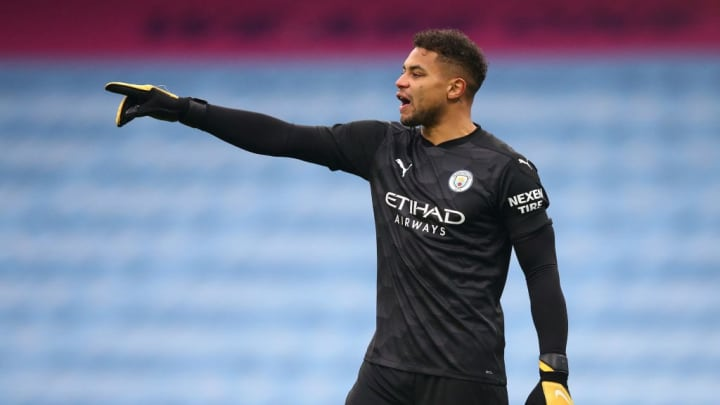 Zack Steffen was on the bench as Manchester City beat Fulham
