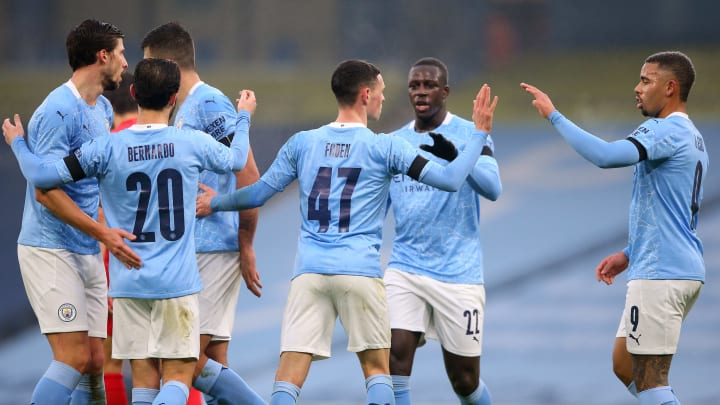 Manchester City had plenty of cause for celebration in their FA Cup clash with Birmingham City