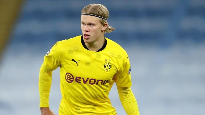 Borussia Dortmund are braced for a battle over Erling Haaland