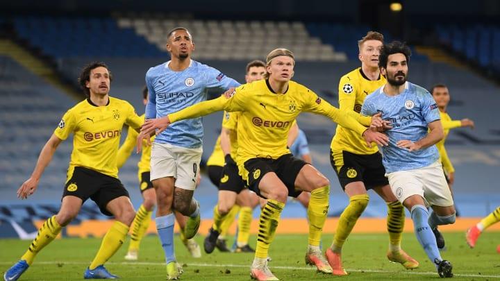 Manchester City v Borussia Dortmund - Liga Champions