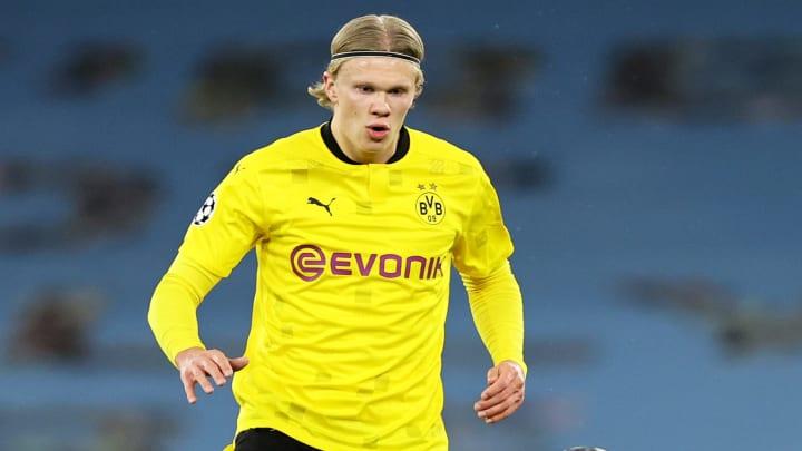 BVB-Star Erling Haaland musste am Dienstag einer besonderen Bitte nachkommen.