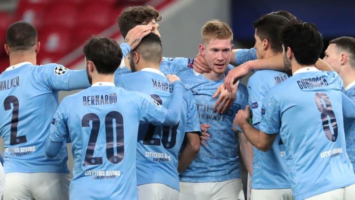 Manchester City sailed into the quarter final