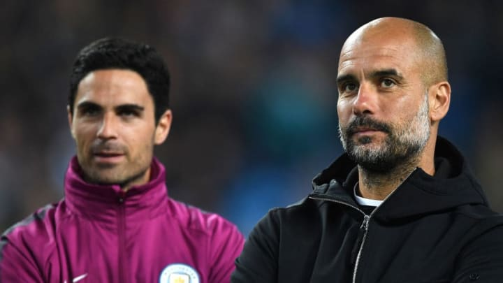 Arteta served as Guardiola's assistant from 2016 until joining Arsenal in December 2019