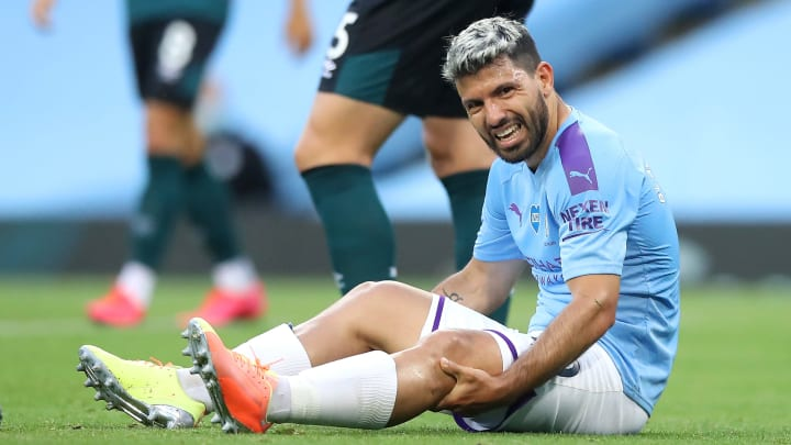 Aguero could be out until November, says Pep Guardiola