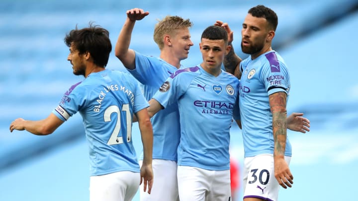 Manchester City thrashed Burnley 5-0 on Monday