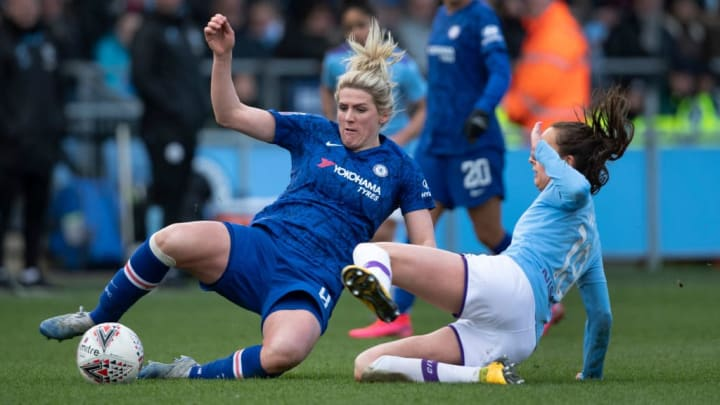 Manchester City & Chelsea drew 3-3 in February WSL clash