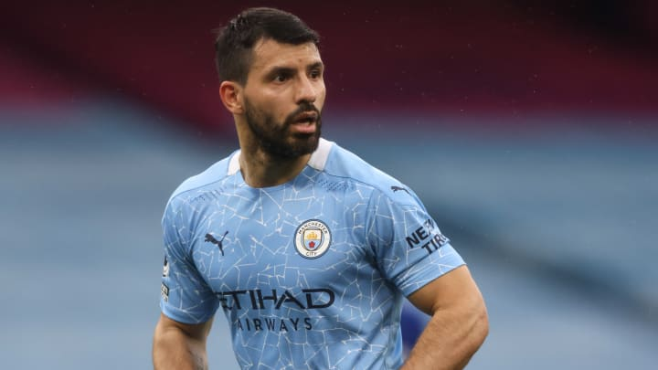 Sergio Aguero could soon join Barcelona on a free transfer