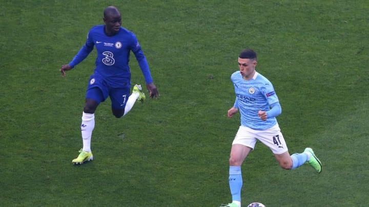 NGolo Kante Phil Foden Chelsea Manchester City Champions League