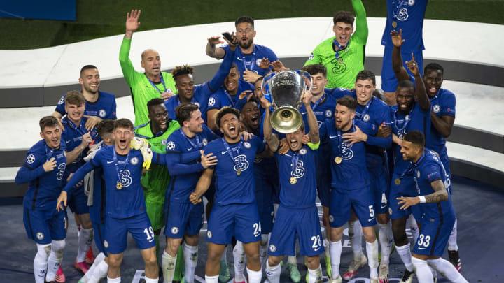 Der FC Chelsea durfte mit dem Henkelpott feiern