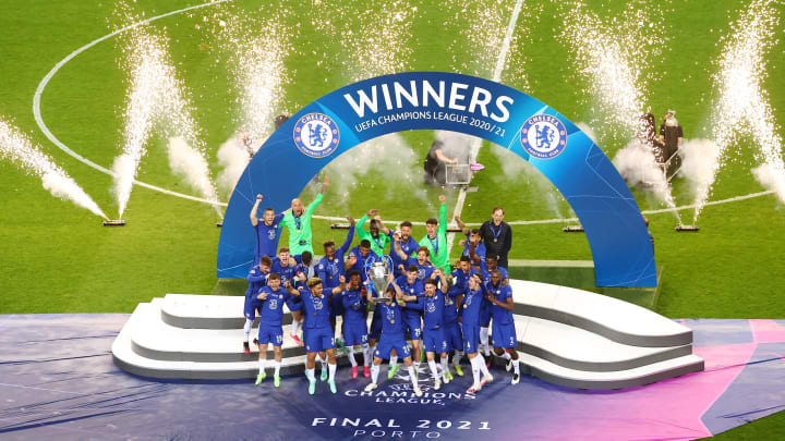 Chelsea are the current holders of the Champions League