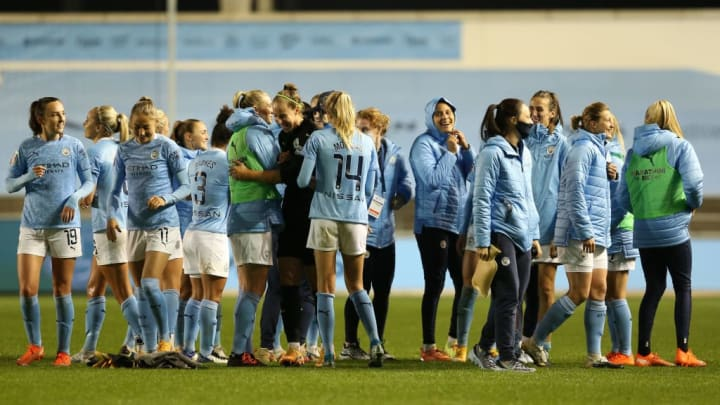 Manchester City v Everton - FA Women's Continental League Cup