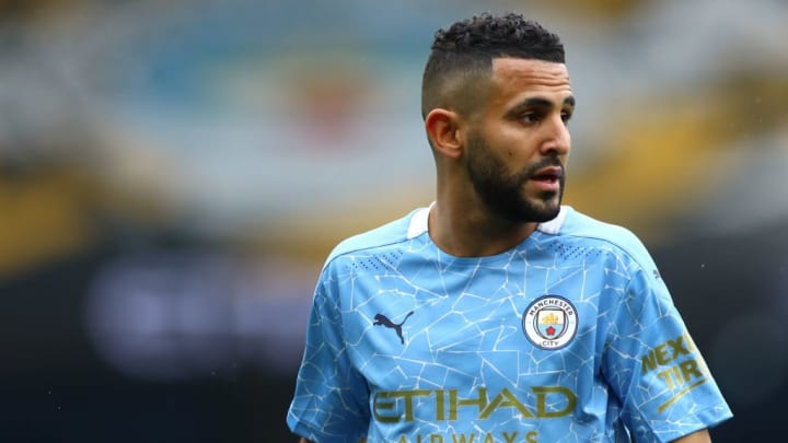 Riyad Mahrez Manchester City Leicester