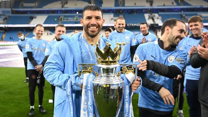 Aguero y su último título en Manchester City