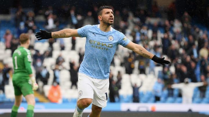 Sergio Agüero se despidió de Premier League con Manchester City